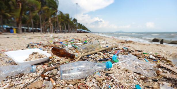 déchets plages