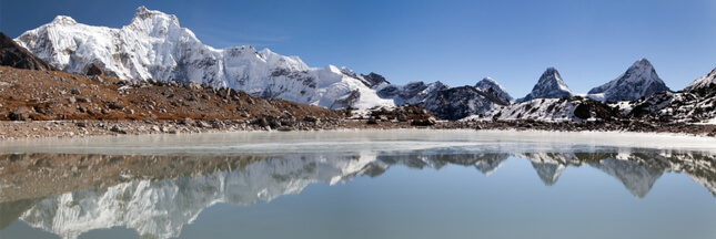 lacs glaciaires