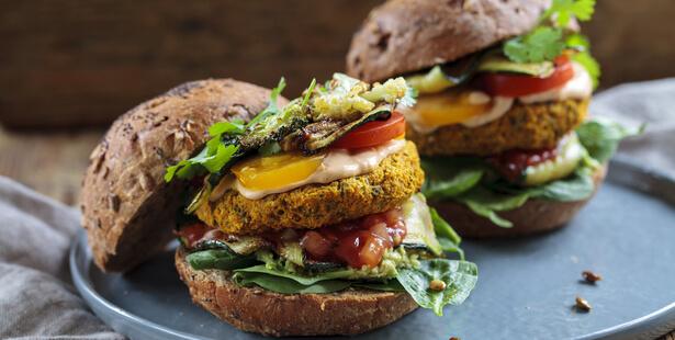 appellation burger végétarien