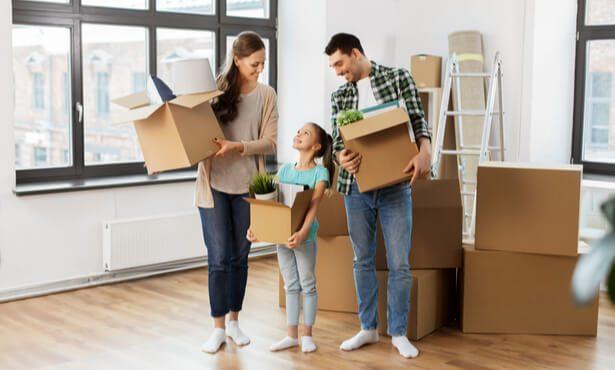 déménagement enfant