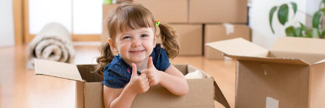 Comment bien préparer son enfant à un déménagement?