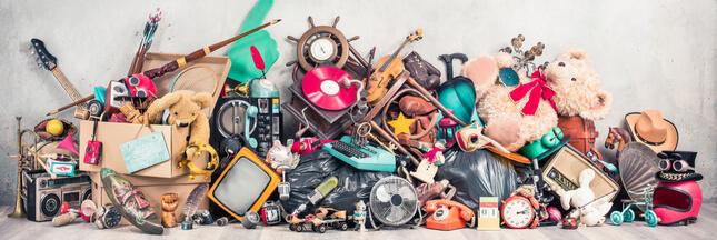 Le gaspillage, c'est aussi pour les objets du quotidien