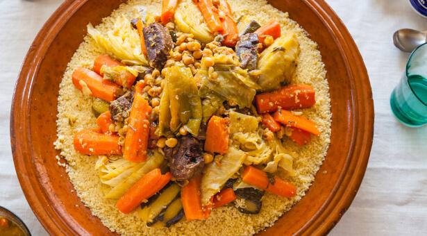 recette couscous royal,