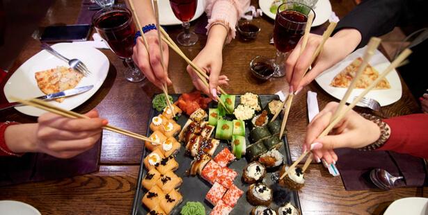 riz sushi