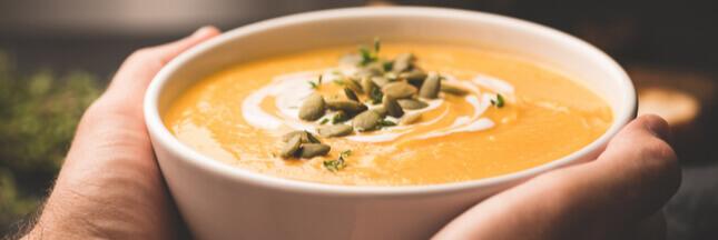 Recette: 3 variantes pour une soupe au potiron gourmande