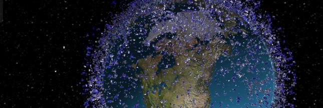 Pollution spatiale: voici tout ce qui vole autour de la Terre