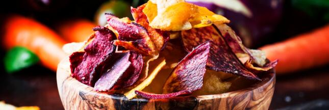 Comment préparer des chips de légumes ?