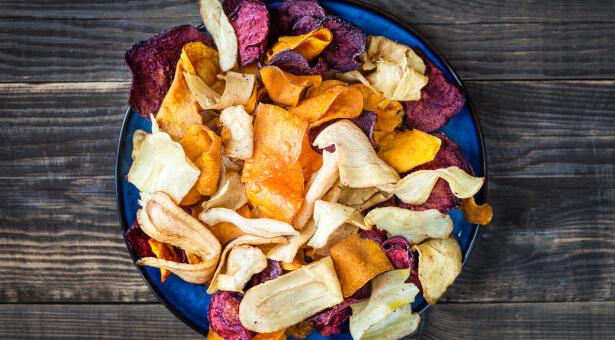 chips de legume