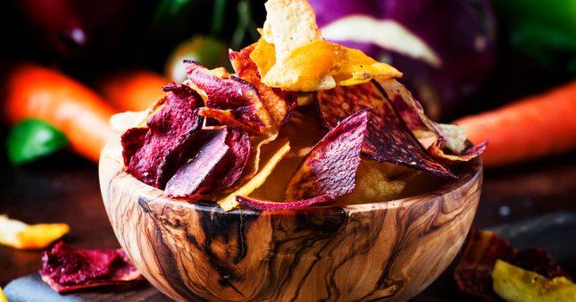 Comment préparer des chips de légumes?