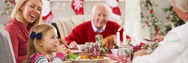 Faire rimer simplicité et plaisir à la table de Noël!