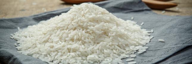 que fare avec du riz ; grain de riz