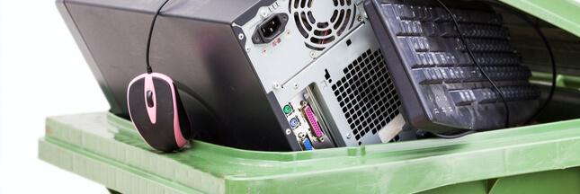 On jette presque notre poids en déchets électroniques tous les ans!