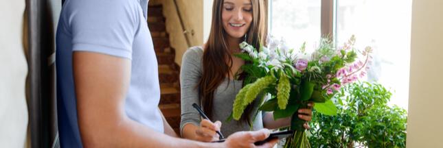 Pour Noël, faites livrer un bouquet de fleurs!
