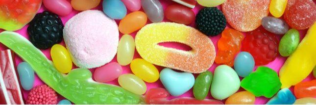Les bonbons les plus caloriques et les plus légers