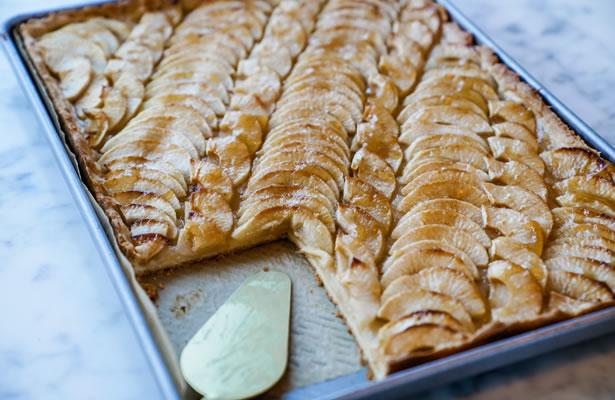 tarte aux pommes revisitee