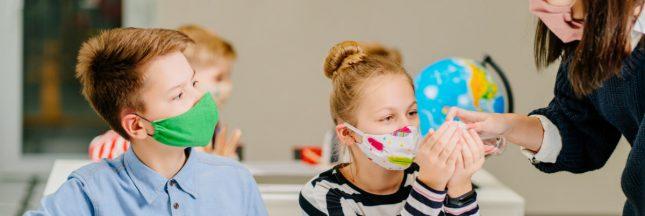 Écoles: les masques en tissu faits maison ne sont plus autorisés