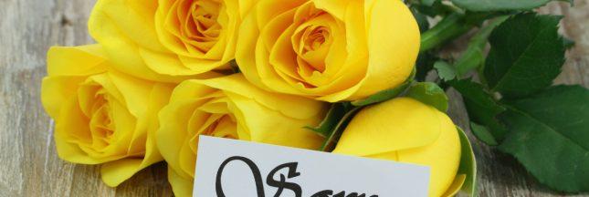 fleur jaune signification