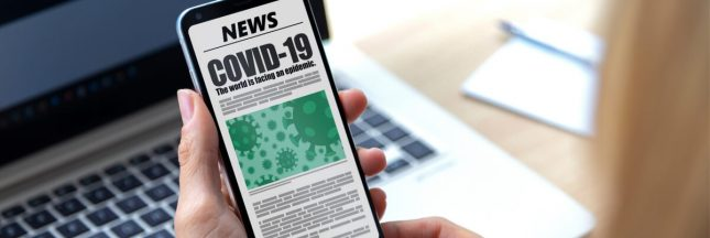 Covid-19: un test 'maison' via smartphone développé en France