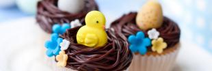 Nids de Pâques - De petits cupcakes de saison