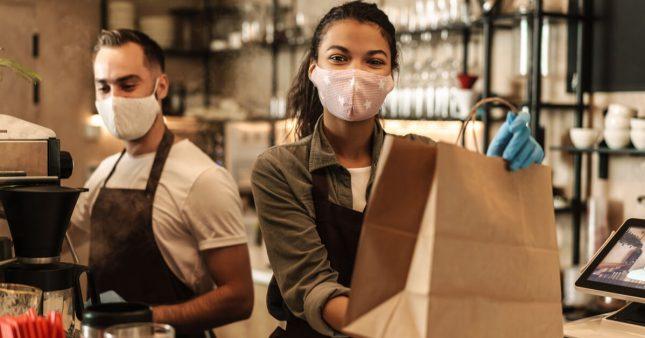 Livraison et vente à emporter: les déchets s'accumulent