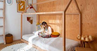 lit Montessori ou lit cabane