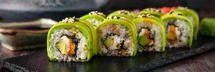 Des maki oui, mais végétariens !