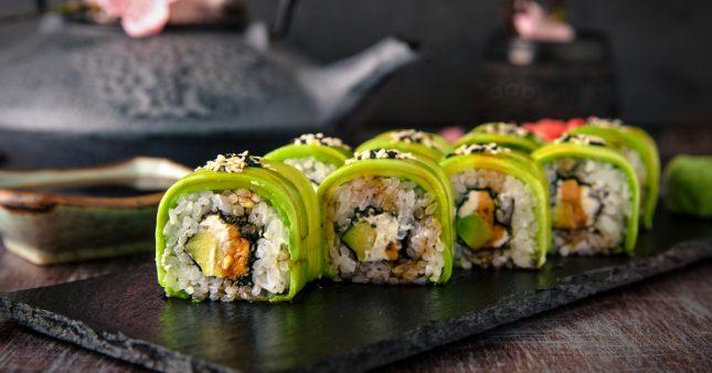 Des maki oui, mais végétariens!