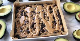 Brownie aux haricots rouges et à la purée d'amandes