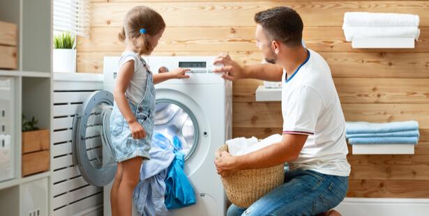 tâche ménagère enfant