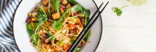 Miam ! Le tofu aux légumes de printemps en papillote