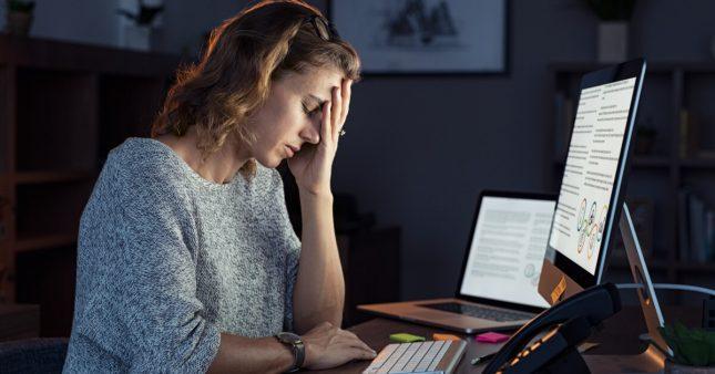AVC, Maladie cardiaque: trop travailler est mauvais pour la santé!