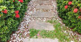 Les astuces pour une allée en gravier sans aucune mauvaise herbe