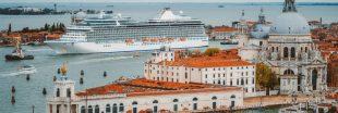 Venise : la lagune de nouveaux envahie par les bateaux de croisière