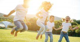 Week-end à la maison: les jeux d'extérieur à organiser facilement