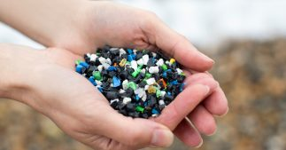 pollution granulés plastiques