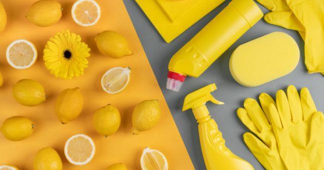 Quels aliments peut-on utiliser pour faire le ménage?