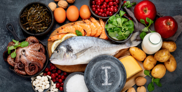iode aliments