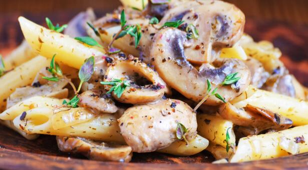 recette avec champignon