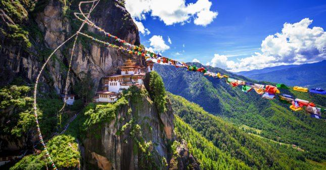 Le Bhoutan, ce petit paradis perdu au bilan carbone négatif