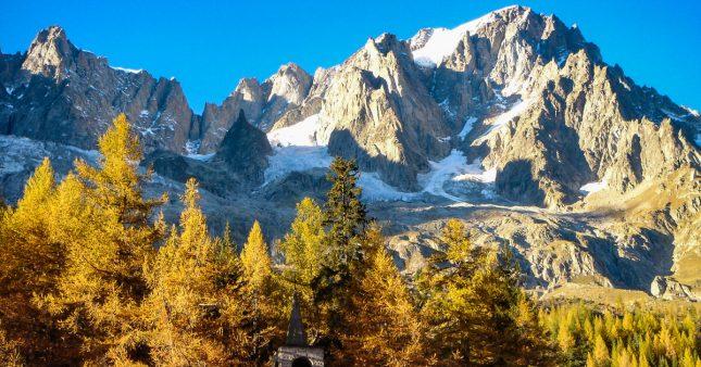 Mont Blanc: un glacier menace de s'effondrer