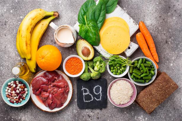 vitalmine B9 aliments