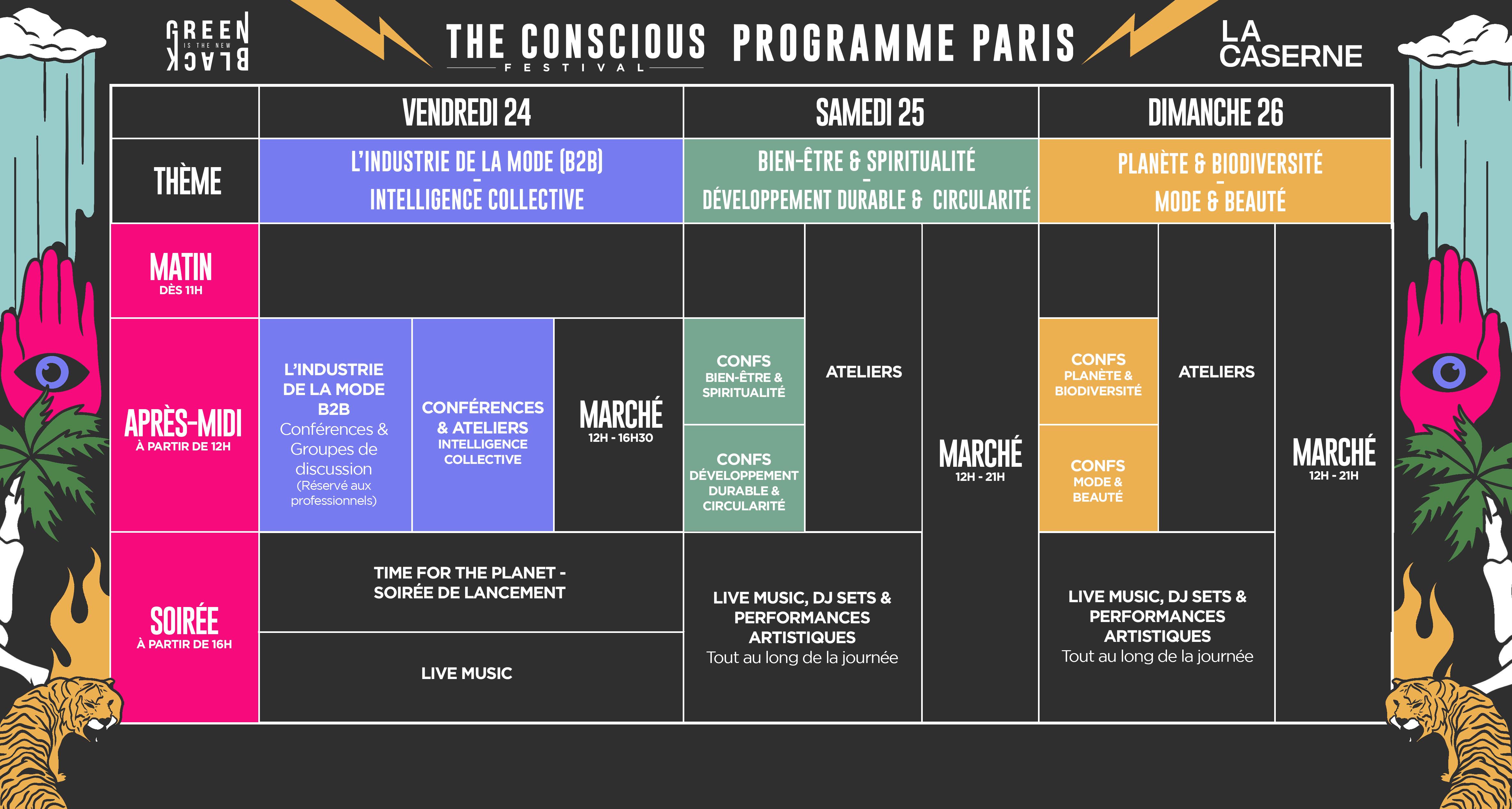 programme Conscious Festival