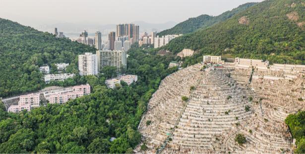 enterrer défunts Hong-Kong