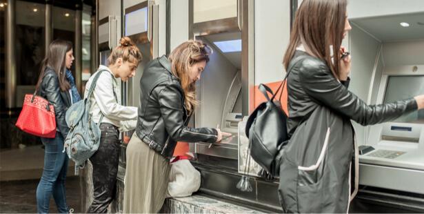 distributeurs de billets